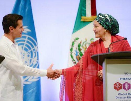 Agrava el cambio climático vulnerabilidad de países ante los desastres naturales: Peña