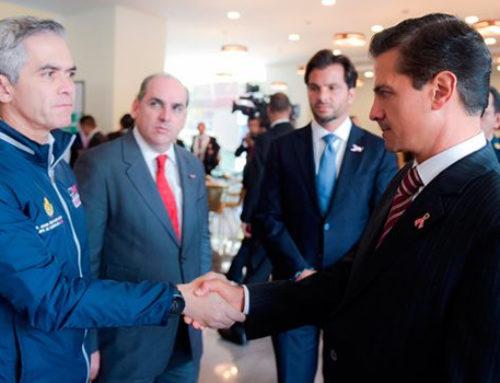 Daños en la infraestructura hidráulica por mil mdp: Peña Nieto