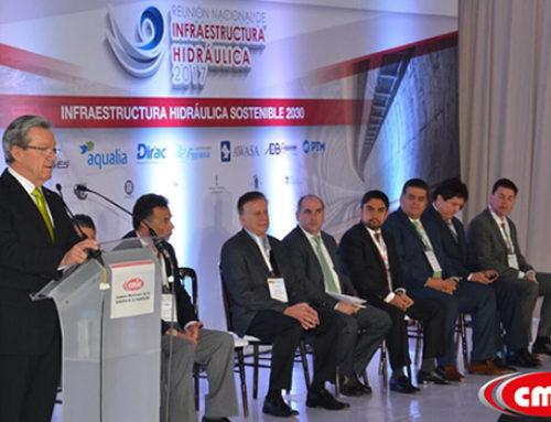 Realiza CMIC Reunión Nacional de Infraestructura Hidráulica 2017