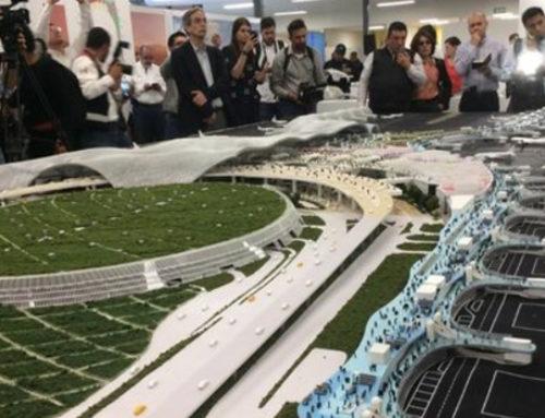 Van 10 propuestas por la red eléctrica del nuevo aeropuerto