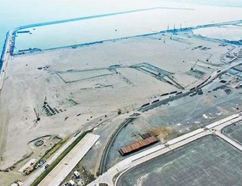 Rompeolas, listo para operar en Nuevo Puerto de Veracruz