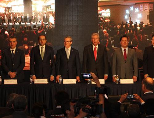 """Presenta CMIC """"Infraestructura Sostenible 2030"""" a candidatos a la Presidencia"""