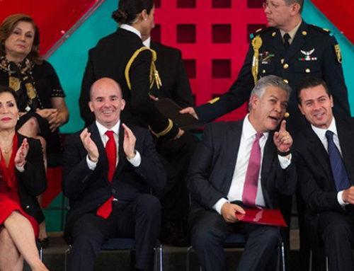 David Penchyna presume Infonavit de 1 billón de pesos