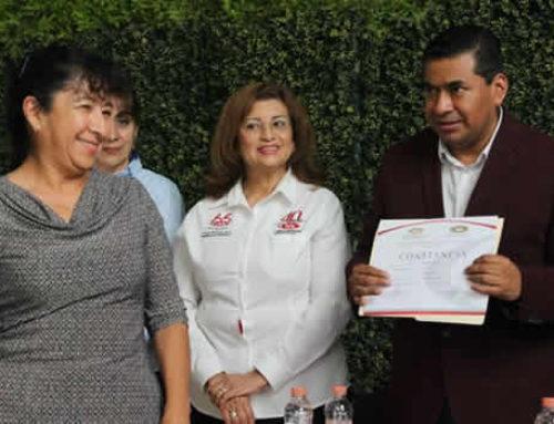 El H. Ayuntamiento de Texcoco capacita a trabajadores y apoya en su certificación