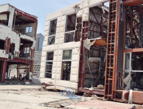 Evaluación de edificios de acero tras sismos fuertes