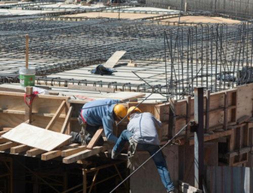 Industria de la construcción, con bajo crecimiento en 2018