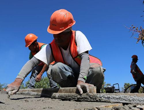 Construcción logra mejor enero en nueve años