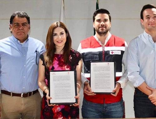 Cruz Roja y CMIC firman convenio de colaboración