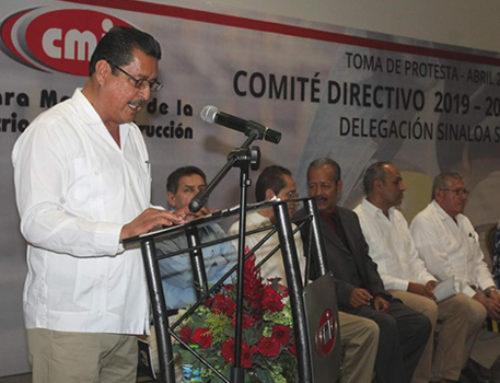Eleuterio Silva dirige la CMIC delegación Sinaloa Sur