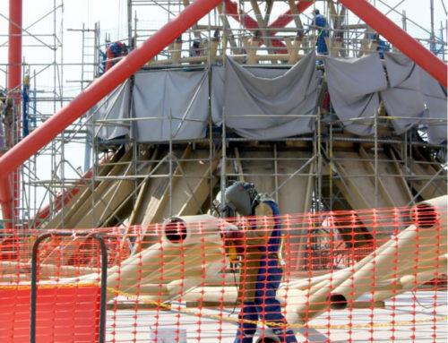 La caída de la construcción