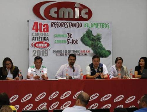 Carrera Atlética CMIC busca recaudar fondos para reforestación