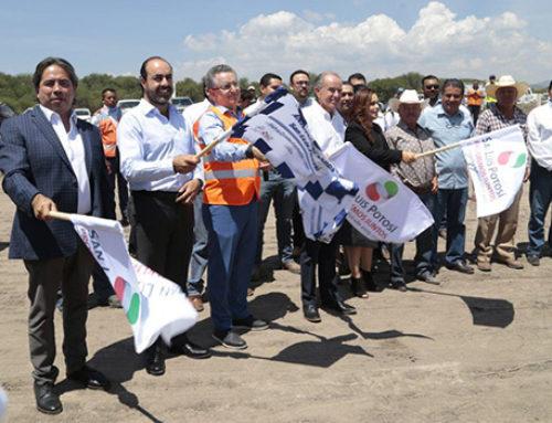 SLP anuncia cuatro proyectos de infraestructura por 580 mdp