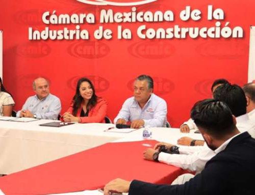 Suscriben convenio de colaboración Sedesoh y CMIC Oaxaca