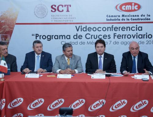 """Videoconferencia """"Programa de Cruces Ferroviarios a Nivel"""""""