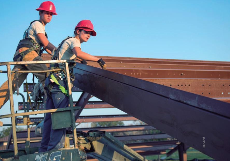 Representación de la mujer en la construcción