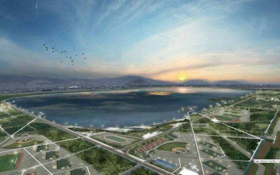 Adjudican contrato para la manifestación ambiental del Lago de Texcoco
