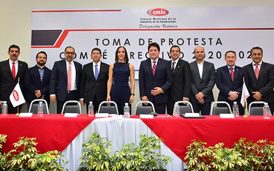 CMIC delegación Victoria tiene nuevo presidente