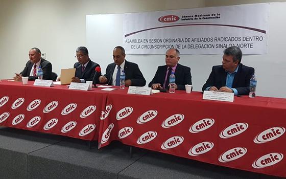 Asume Fernando Valenzuela García presidencia de CMIC