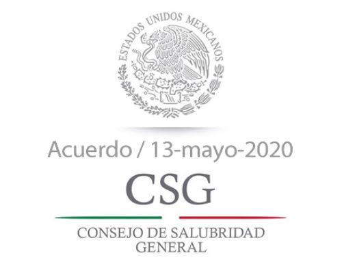 Acuerdo del Consejo de Salubridad General