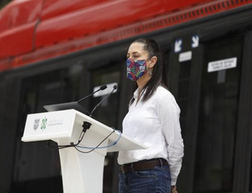 El gobierno de la CDMX anuncia una línea de Metrobús sobre Circuito Interior