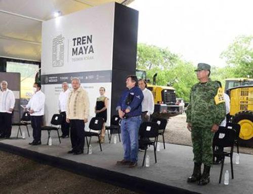 Este año, 80 mil empleos con el Tren Maya: AMLO