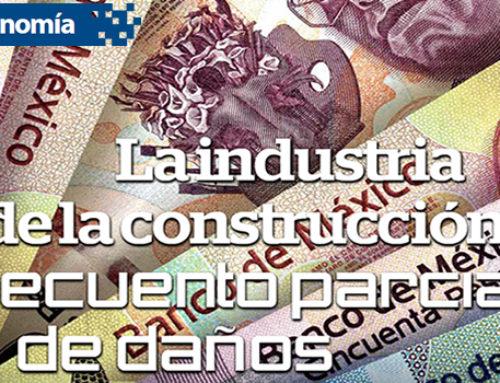 La industria de la construcción: recuento parcial de daños