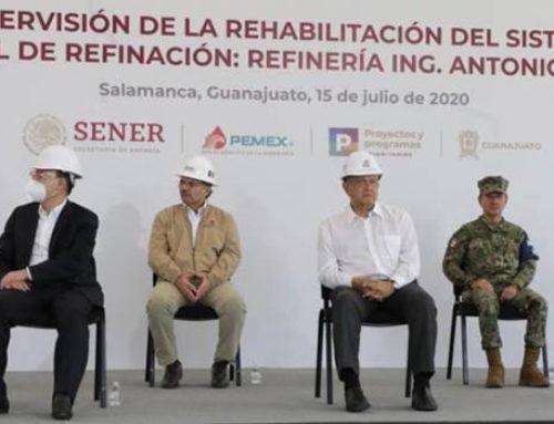 A Dos Bocas siguen dos proyectos más de refinación dice AMLO