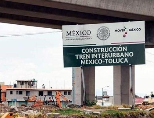 Revisan tren México-Toluca AMLO y Del Mazo