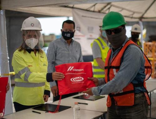 CMIC y CEMEX unen esfuerzos para proteger la salud de trabajadores de la construcción