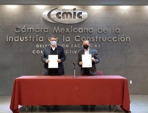 SESEAZ y CMIC firman convenio de capacitación