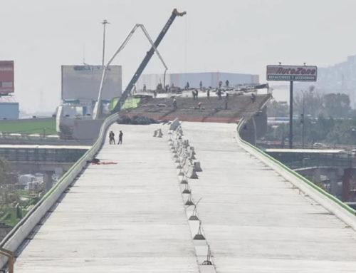 Del Mazo supervisa avance de autopista urbana en Ecatepec