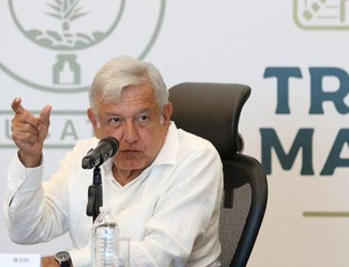 Tren Maya será eléctrico y no contaminará: AMLO