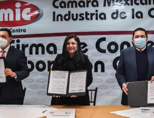 CMIC Veracruz firma convenio de colaboración con Secretaría del Trabajo