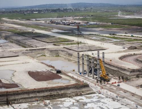 Las obras de la Base Aérea Militar de Santa Lucía están cerca de ser concluidas