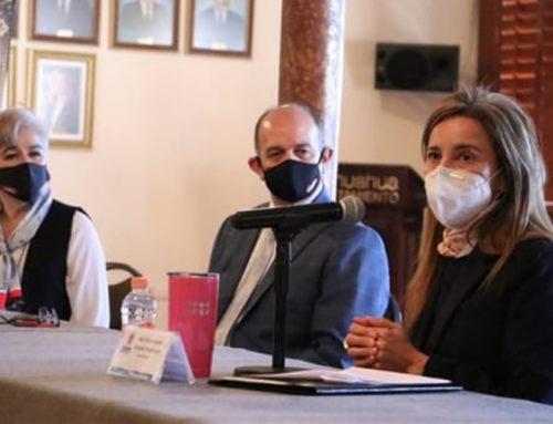 Recibe Alcaldesa cheque de CMIC por 530 mil pesos para proyectos sociales