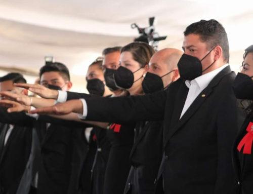 Rinde protesta comité directivo 2021-2023 de CMIC Michoacán
