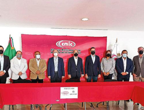 Firman CMIC y Coparmex convenio de colaboración