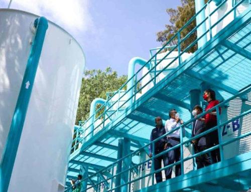 Inauguran planta potabilizadora en Iztacalco
