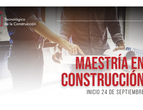 ITC anuncia sus nuevos programas de maestrías especializados en el sector de la construcción