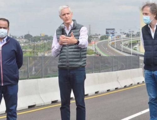 Edomex inaugura autopista 'Siervo de la Nación'; mejorará conectividad con nuevo aeropuerto