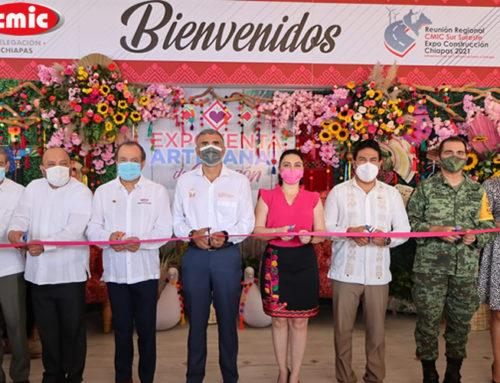Inicia con gran éxito la Reunión Regional CMIC Sur Sureste y Expo Construcción Chiapas 2021